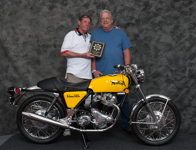 Vincent Shardt, Winner of Street Heavyweight Open Class 1971-1983- 1971 Norton Commando
