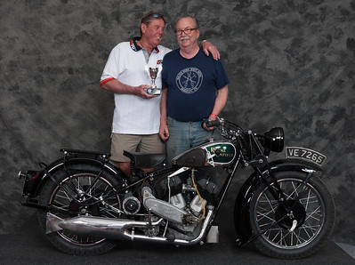 Fred Mork, Winner of Best Enfield- 1930 Royal Enfield Model K1 V-twin