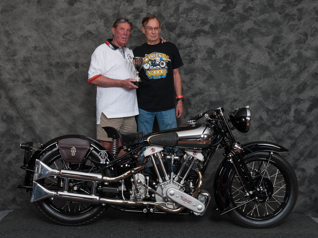 Bob Mitchell, Winner Peoples Choice Award - 1938 Brough-Superior SS100