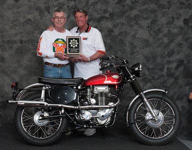 Paul Allen, Winner of Street Middleweight 1963-1970 Production Class - 1967 Matchless G80CS