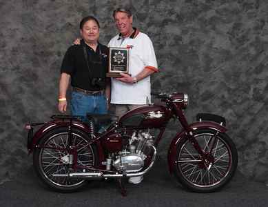 Richard Yamane, Winner of Street Lightweight 1946-1962, Production Class - 1954 Triumph Terrier