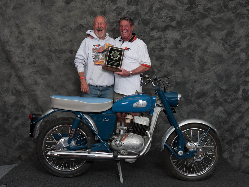 Don Kelly, Winner of Street Lightweight 1963-1970 Production Class - 1966 Greeves 25DC