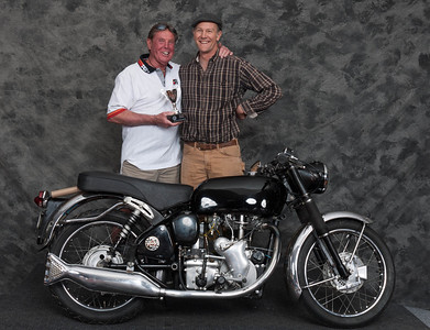 Jeff Ward, Winner of Best Velocette- 1969 Velocette Clubman