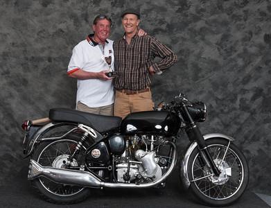 Jeff Ward, Winner of Best Velocette- 1969 Velocette Clubman