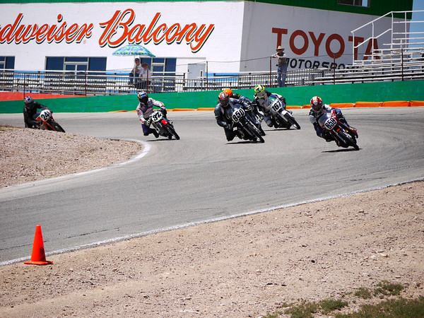 CB160 class, 1st lap, 3rd and back