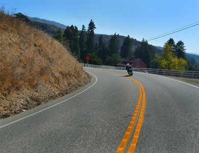 Highway 84 toward San Gregorio