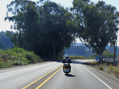 Aproaching San Gregorio & Stage Rd