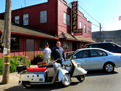 Harley & the Oddscoots at Duarte's in Pescadero