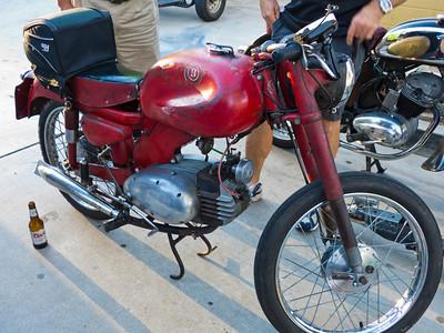 Patrick's Motobi 125 two stroke