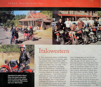 German article on the Giro 'd California