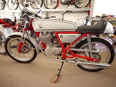Twin cam Honda 50cc, 14,000 rpm