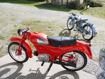 Moto Guzzi Zigolo & NSU Fox