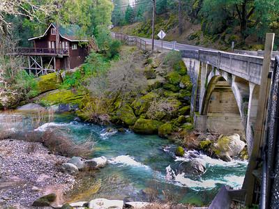 Cosumnes River bridge