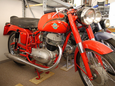Italian BM motorcycle