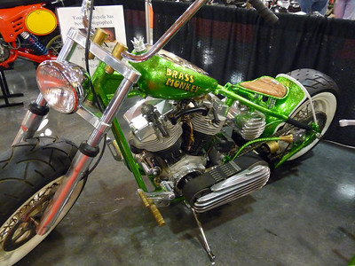 """Brass Monkey"" chopper"