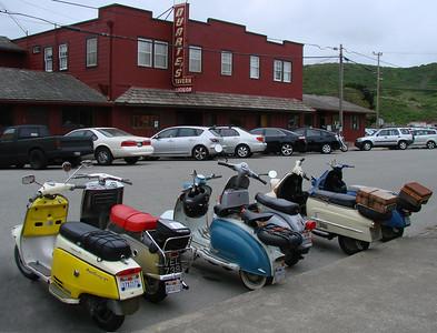 Oddscoots @ Duarte's in Pescadero