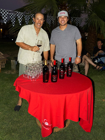 Event sponsors and participants Marcelo Doffo and his son Damian Doffo of Doffo Winery in Temecula, Ca. Visit them at http://www.doffowines.com/