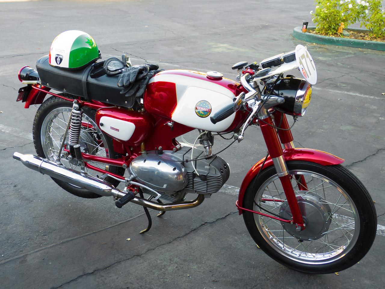 Hugo Gallina's lovely Benelli 125