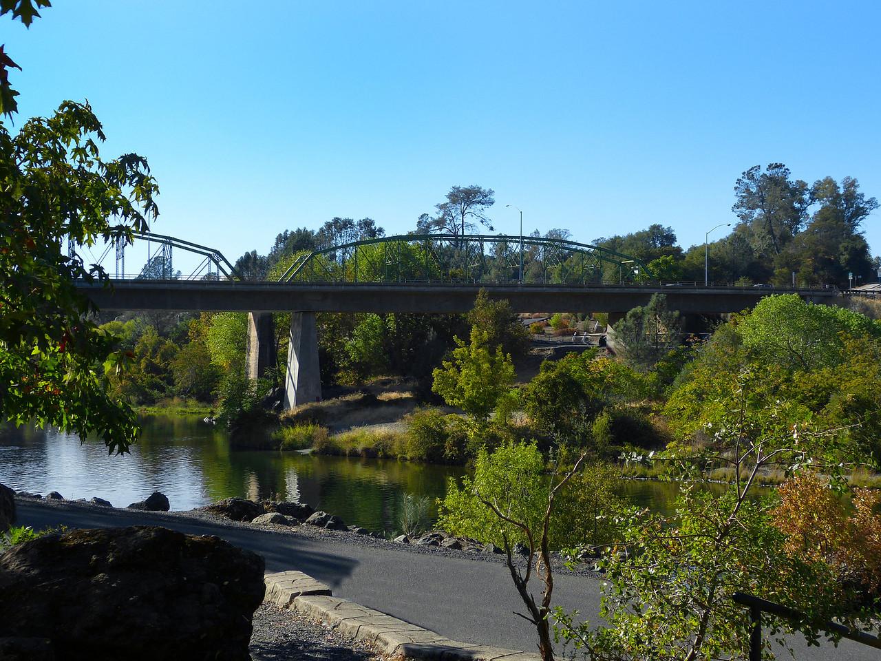 Highway 70 bridge over the river.
