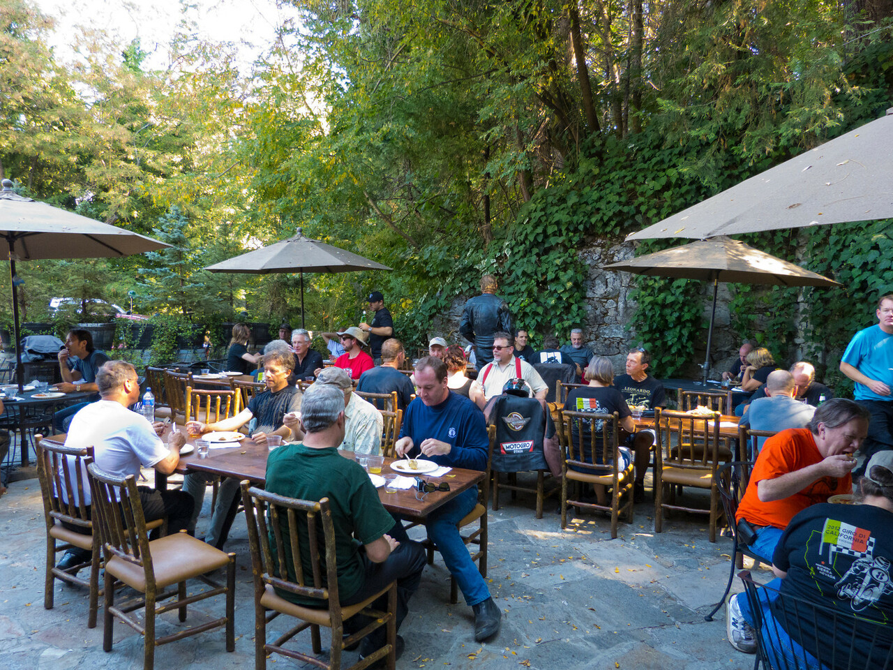 Lunch at The Stone House in Nevada City, CA.