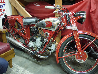 Very rare Guzzi 250 from the 30's
