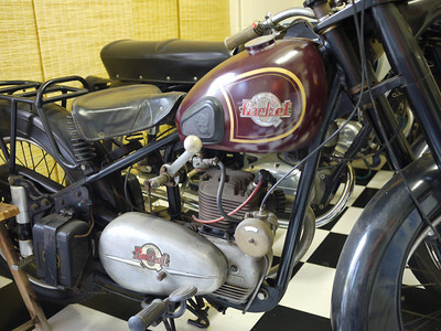 """Rocket Queen"" motorcycle"