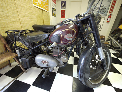 "Very rare Japanese ""Rocket Queen"" motorcycle"