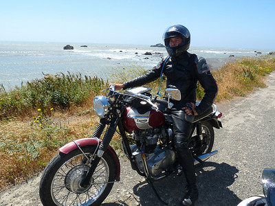 Sam Bail on the Lost Coast
