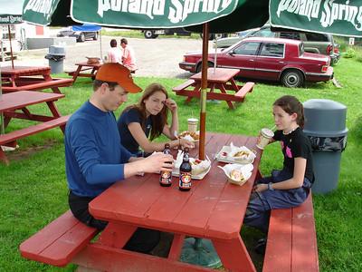 Grammie's in ME, July 2006