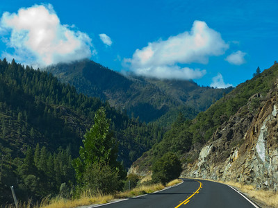 Along the Feather River Highway