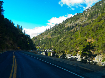 Another girder bridge on the Feather River Highway