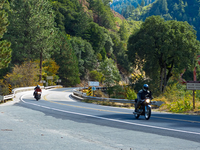 Passing Belden Town, on the Feather River Highway