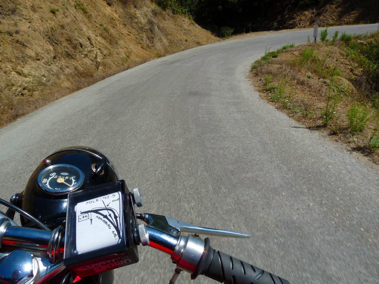Old La Honda Road