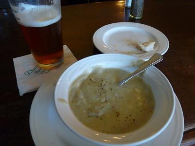 Famous Artichoke soup