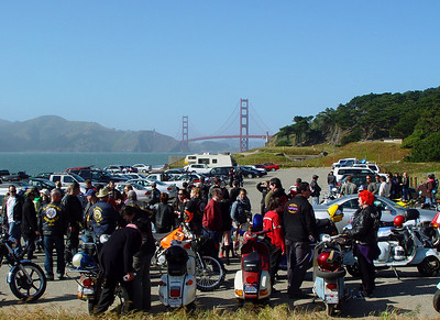 During Mods vs Rockers IV, San Francisco