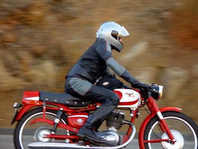 Sam Bail & his '59 Moto Morini