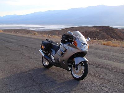200 feet below sea level in Death Valley, CA