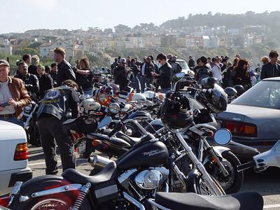 San Francisco, 2007 Mods vs Rockers ride