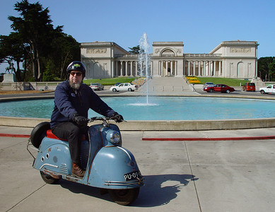 Harely & the Goggo at the Legion of Honor