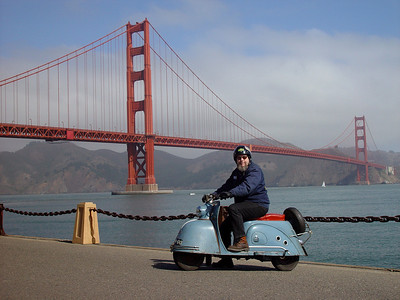 Harley, Goggo and the Golden Gate