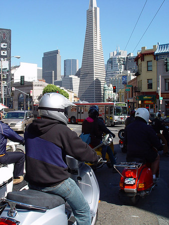 San Francisco Classic Scooter Rally 2006
