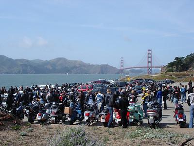 Scooter Rage 2007, Golden Gate bridge