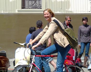 Jennifer Bromme, on the road