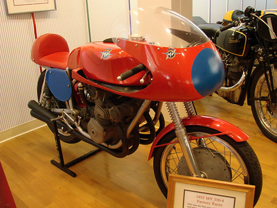 1952 MV 350-4 racer