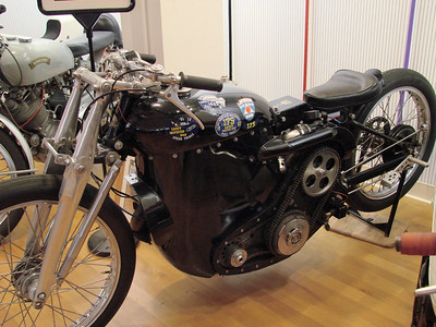 1949 Vincent Black Lightning - Supercharged