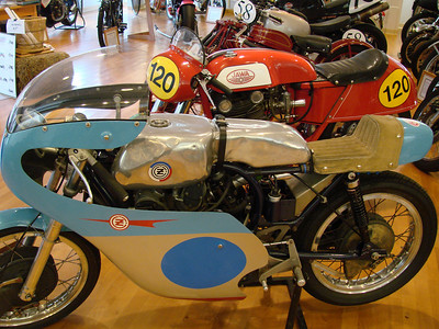 CZ race bike