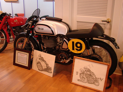 1949 Norton Manx 500cc racer