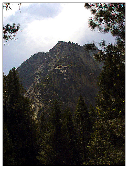 Taken from the base of King's Canyon.