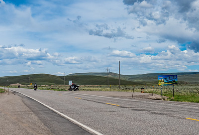 Highway 30, entering Wyoming headed for Kemmerer.