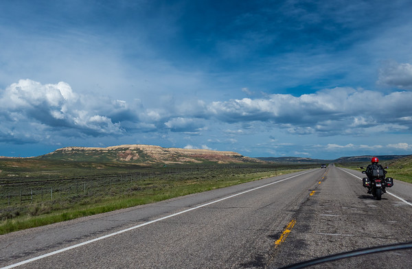 Highway 30 in Wyoming